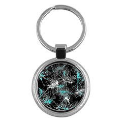 Color Fun 03a Key Chains (round)  by MoreColorsinLife