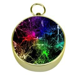 Color Fun 03b Gold Compasses by MoreColorsinLife