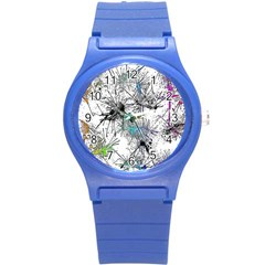 Color Fun 03f Round Plastic Sport Watch (s) by MoreColorsinLife