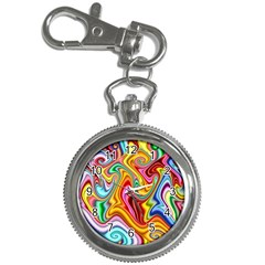 Rainbow Gnarls Key Chain Watches by WolfepawFractals