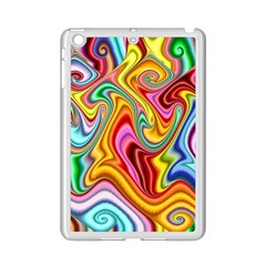 Rainbow Gnarls Ipad Mini 2 Enamel Coated Cases by WolfepawFractals