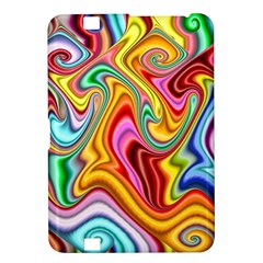 Rainbow Gnarls Kindle Fire Hd 8 9  by WolfepawFractals