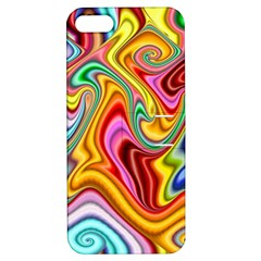 Rainbow Gnarls Apple Iphone 5 Hardshell Case With Stand by WolfepawFractals