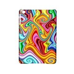 Rainbow Gnarls Ipad Mini 2 Hardshell Cases by WolfepawFractals