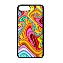 Rainbow Gnarls Apple Iphone 7 Plus Seamless Case (black) by WolfepawFractals
