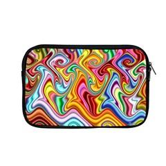 Rainbow Gnarls Apple Macbook Pro 13  Zipper Case by WolfepawFractals