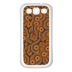 Broken Pattern A Samsung Galaxy S3 Back Case (white) by MoreColorsinLife