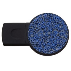 Broken Pattern C Usb Flash Drive Round (4 Gb) by MoreColorsinLife