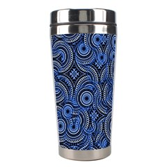 Broken Pattern C Stainless Steel Travel Tumblers by MoreColorsinLife