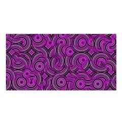 Broken Pattern B Satin Shawl by MoreColorsinLife