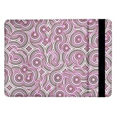 Broken Pattern E Samsung Galaxy Tab Pro 12 2  Flip Case by MoreColorsinLife