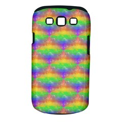 Painted Rainbow Pattern Samsung Galaxy S Iii Classic Hardshell Case (pc+silicone) by Brini