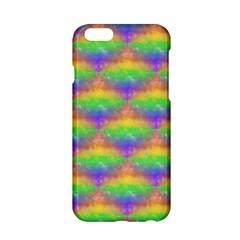Painted Rainbow Pattern Apple Iphone 6/6s Hardshell Case by Brini
