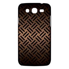 Woven2 Black Marble & Bronze Metal (r) Samsung Galaxy Mega 5 8 I9152 Hardshell Case  by trendistuff