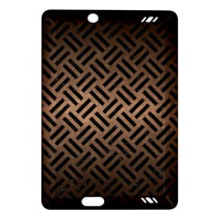 Woven2 Black Marble & Bronze Metal (r) Amazon Kindle Fire Hd (2013) Hardshell Case by trendistuff