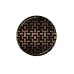 Woven1 Black Marble & Bronze Metal Hat Clip Ball Marker (4 Pack) by trendistuff