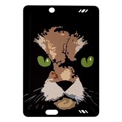 Cat  Amazon Kindle Fire Hd (2013) Hardshell Case by Valentinaart