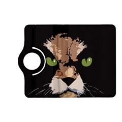 Cat  Kindle Fire Hd (2013) Flip 360 Case by Valentinaart