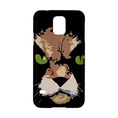 Cat  Samsung Galaxy S5 Hardshell Case  by Valentinaart