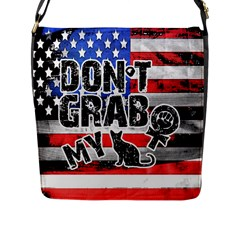 Dont Grab My Flap Messenger Bag (l)  by Valentinaart
