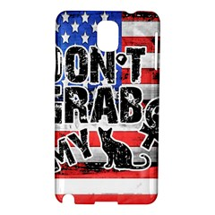Dont Grab My Samsung Galaxy Note 3 N9005 Hardshell Case by Valentinaart