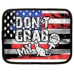 Dont Grab My Netbook Case (xxl)  by Valentinaart