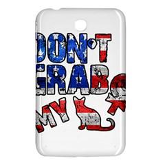 Dont Grab My Samsung Galaxy Tab 3 (7 ) P3200 Hardshell Case  by Valentinaart