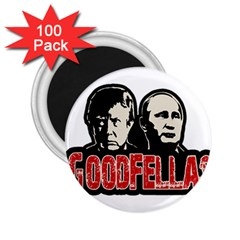 Goodfellas Putin And Trump 2 25  Magnets (100 Pack)  by Valentinaart