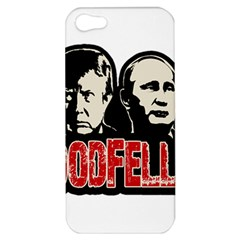 Goodfellas Putin And Trump Apple Iphone 5 Hardshell Case by Valentinaart