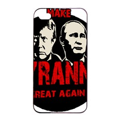 Make Tyranny Great Again Apple Iphone 4/4s Seamless Case (black) by Valentinaart