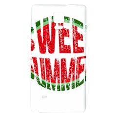 Watermelon   Sweet Summer Galaxy Note 4 Back Case by Valentinaart