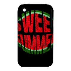 Watermelon   Sweet Summer Iphone 3s/3gs by Valentinaart