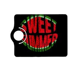 Watermelon   Sweet Summer Kindle Fire Hd (2013) Flip 360 Case by Valentinaart