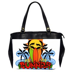 Tropical Summer Office Handbags (2 Sides)  by Valentinaart
