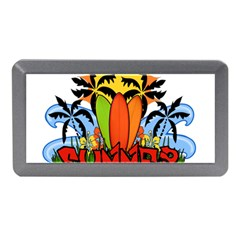 Tropical Summer Memory Card Reader (mini) by Valentinaart