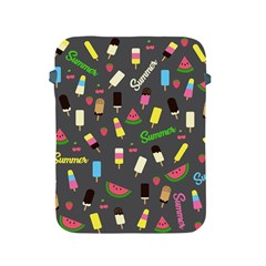 Summer Pattern Apple Ipad 2/3/4 Protective Soft Cases by Valentinaart