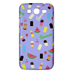 Summer Pattern Samsung Galaxy Mega 5 8 I9152 Hardshell Case  by Valentinaart
