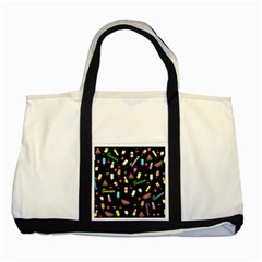 Summer Pattern Two Tone Tote Bag by Valentinaart