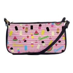 Summer Pattern Shoulder Clutch Bags by Valentinaart