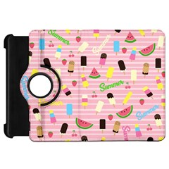 Summer Pattern Kindle Fire Hd 7  by Valentinaart