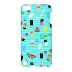 Summer Pattern Apple Ipod Touch 5 Hardshell Case by Valentinaart