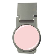 Blush Pink Money Clips (round)  by SimplyColor