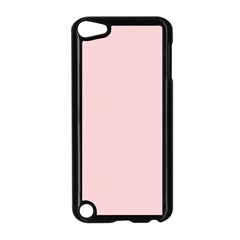 Blush Pink Apple Ipod Touch 5 Case (black) by SimplyColor