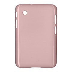 Blush Pink Samsung Galaxy Tab 2 (7 ) P3100 Hardshell Case  by SimplyColor
