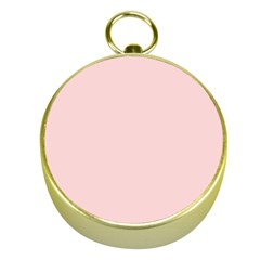 Blush Pink Gold Compasses by SimplyColor