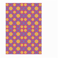 Colorful Geometric Polka Print Large Garden Flag (two Sides) by dflcprints