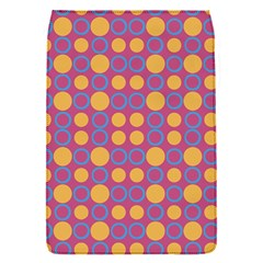 Colorful Geometric Polka Print Flap Covers (s)  by dflcprints