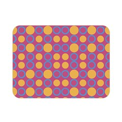 Colorful Geometric Polka Print Double Sided Flano Blanket (mini)  by dflcprints