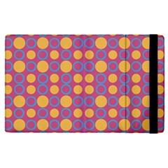Colorful Geometric Polka Print Apple iPad Pro 9.7   Flip Case