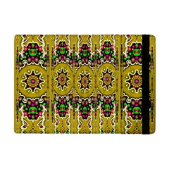 Rainbow And Stars Coming Down In Calm  Peace Apple Ipad Mini Flip Case by pepitasart